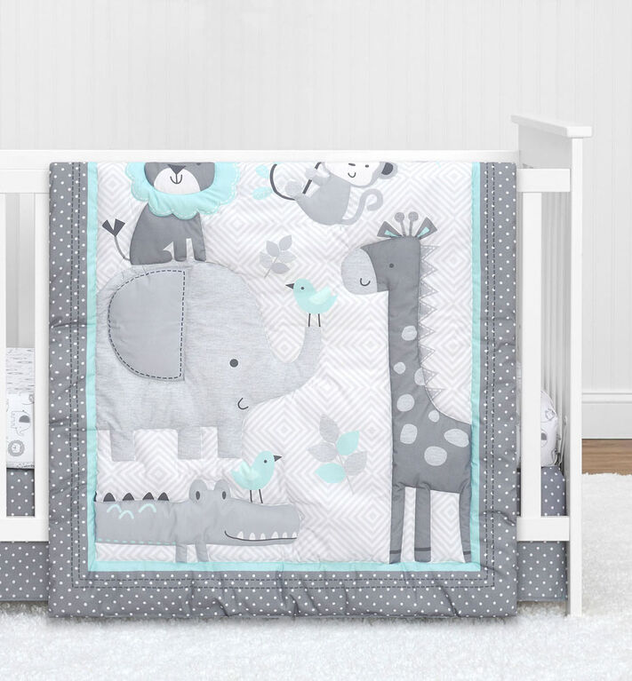 Cuddletime Bailey 5 PC Bedding Set