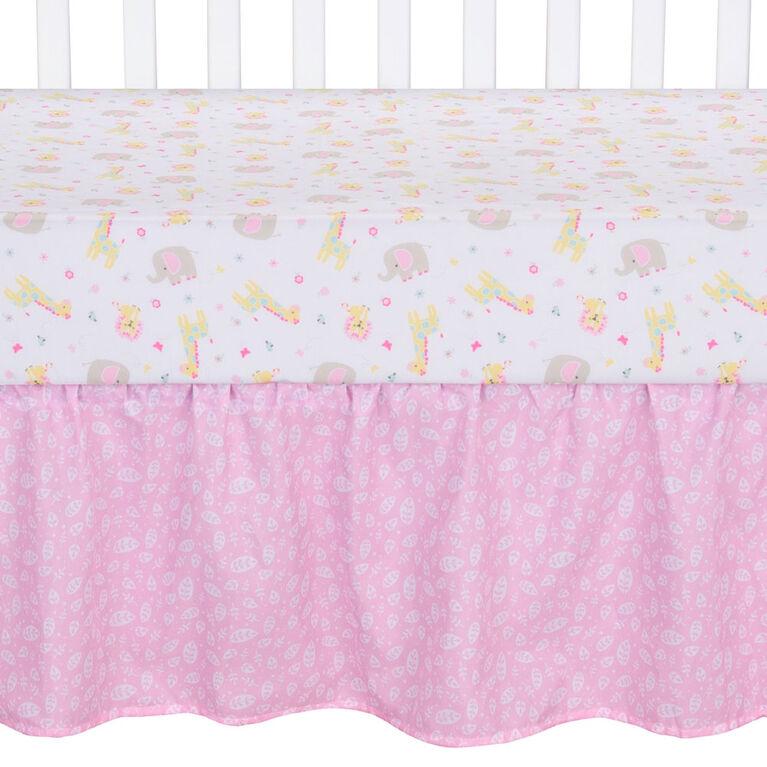 Sammy&Lou Jungle Girl 4 Pc Crib Bedding