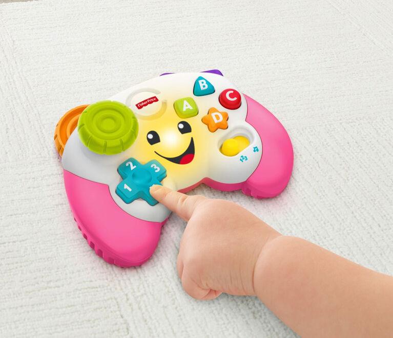 Fisher-Price - Rires et Éveil - Manette de jeu vidéo jouet - Édition anglaise