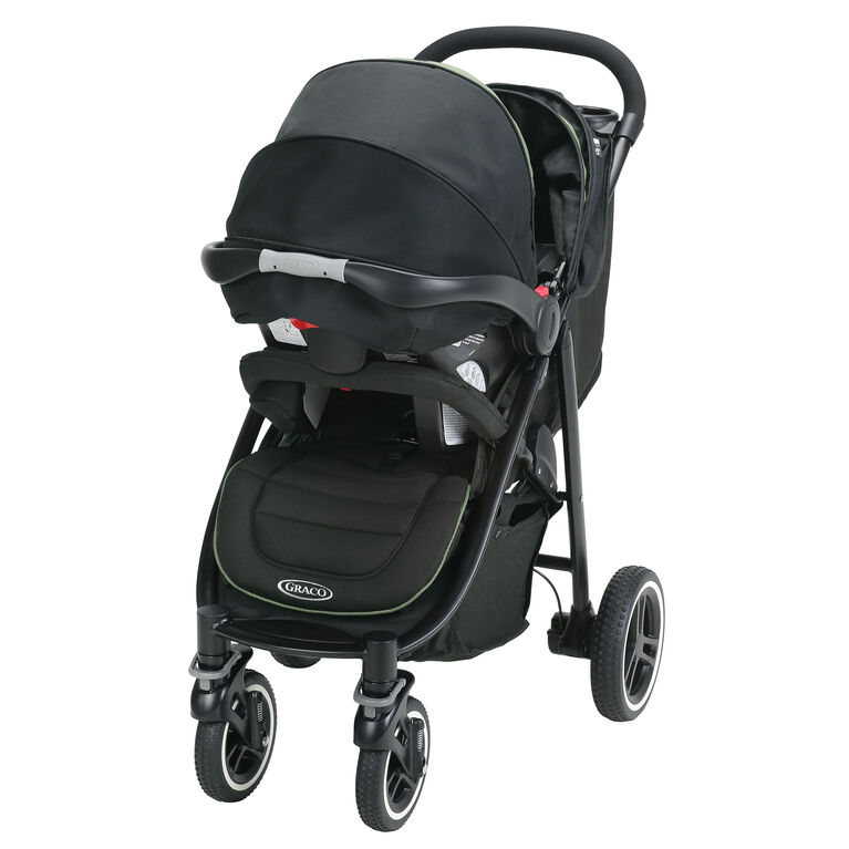 Graco Aire4 XT Click Connect Travel System - Emory