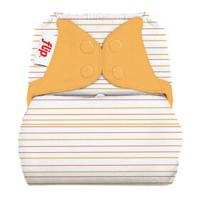 bumGenius Flip Culotte Lavable De Protection - Clementine Stripes.