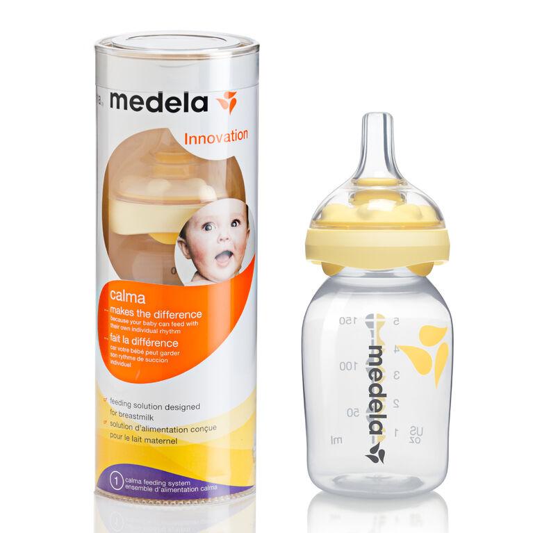 Medela Calma - Système de nutrition révolutionaire avec biberon de 150mL.