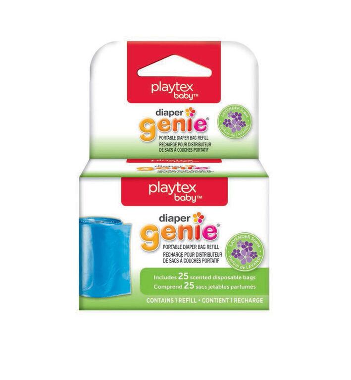 Recharges pour distributeur de sacs à couches portatif Diaper Genie de Playtex Baby