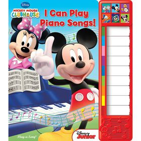 Play-a-Sound Book: Mickey Mouse - I Can Play Piano Songs! - Édition anglaise