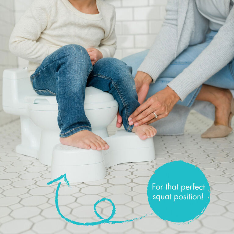 Pot et siège d'aaprentissage de The First Years Super Pooper