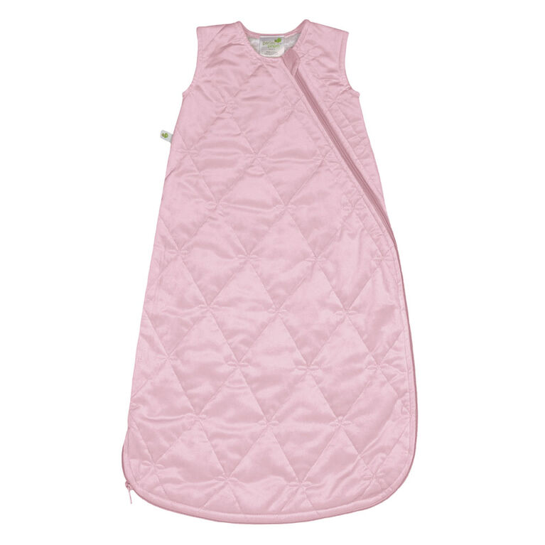 Perlimpinpin - Velour sleep bag - Pink 6-18