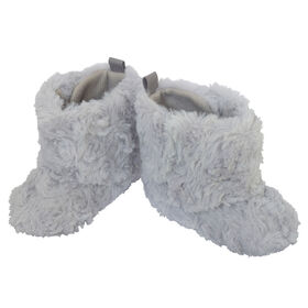 So Dorable Pre Walker Girls - Fur Boot - Grey      0-6M