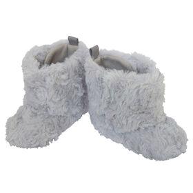 So Dorable Pre Walker Girls - Fur Boot - Grey     6-9M