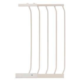 Porte à fermeture automatique / porte Xtra Wide Dreambaby Chelsea - extension de porte 14 / 36 cm - Blanc - Notre exclusivité