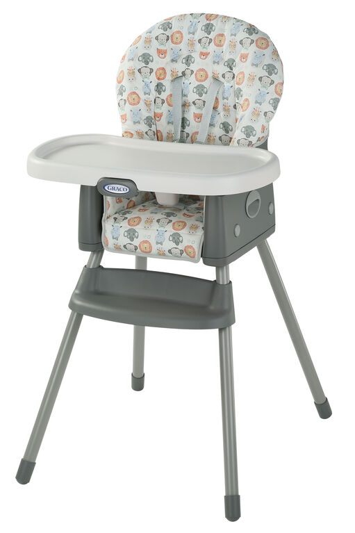 Graco SimpleSwitch 2-in-1 Highchair - Hipster Safari - R Exclusive
