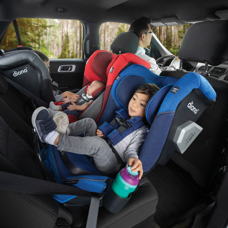 Radian 3Qxt Latch All-In-One Convertible Car Seat - Black Jet