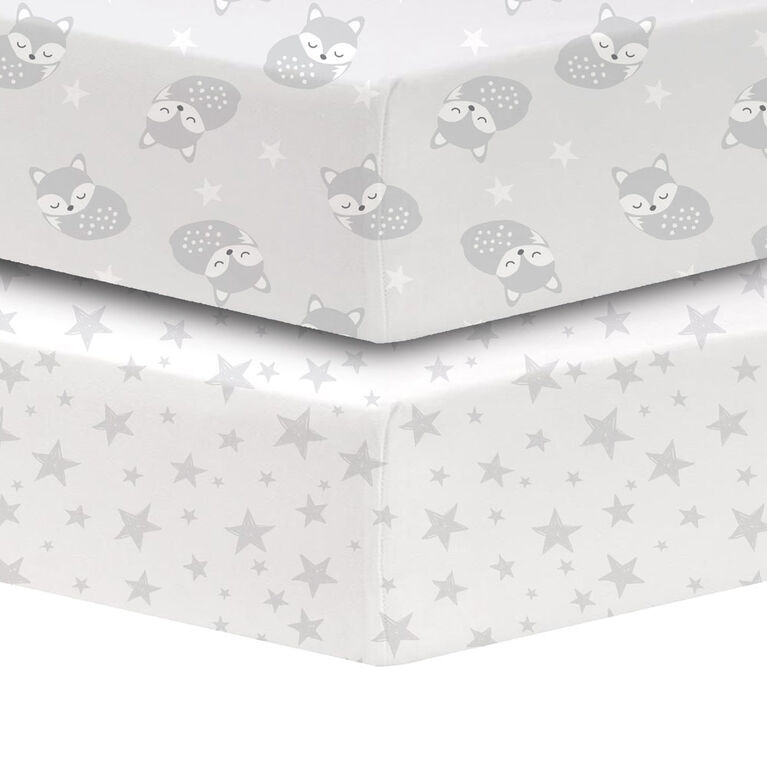 Koala Baby - Drap-housse pour lit de bébé en percale 100 % coton.