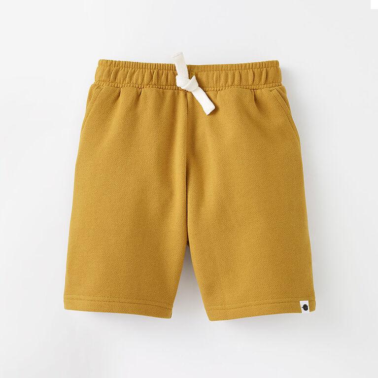 12-18m short en tricot - brun