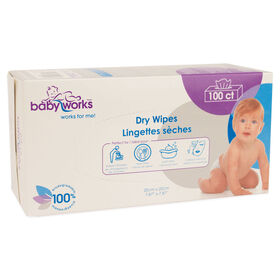 Baby Works Lingettes Sèches.