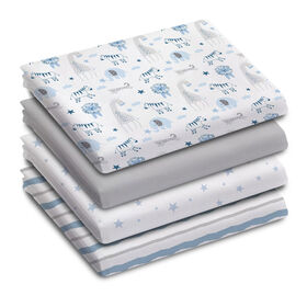 Koala Baby - Receiving Blankets 4 Pk Safari