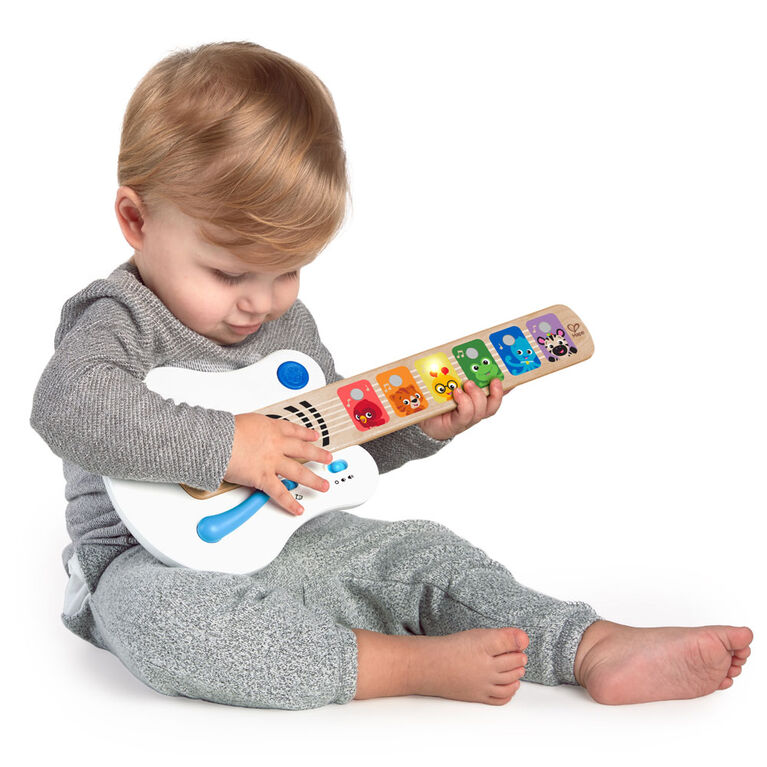 Strum Along Songs Magic Touch Wooden Electronic Guitar Toy
