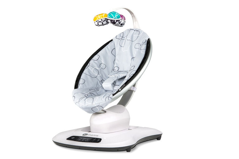 4moms mamaRoo Swing 4.0 - Silver Plush