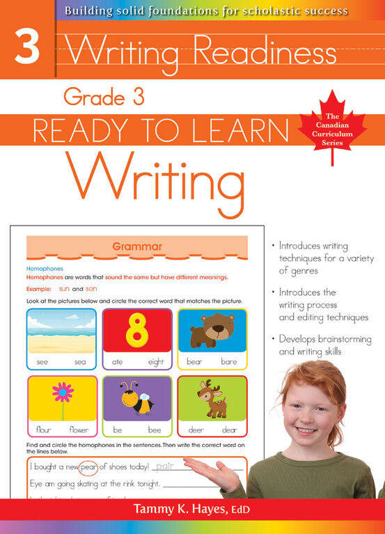 Grade 3 - Ready To Learn Writing - Édition anglaise
