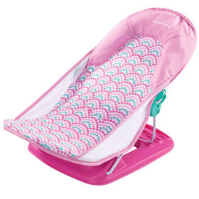 Summer Infant Deluxe Baby Bather - Pink Bubble Waves