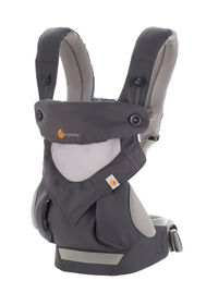 Ergobaby Four Position 360 Performance Baby Carrier – Cool Air Carbon Grey