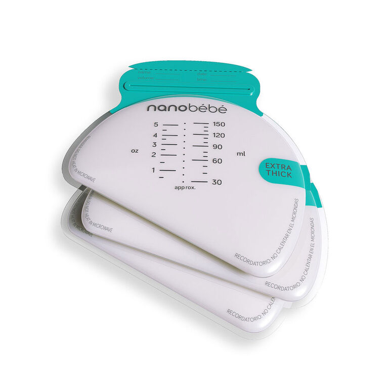 nanobébé - 50 Breastmilk Storage Bags