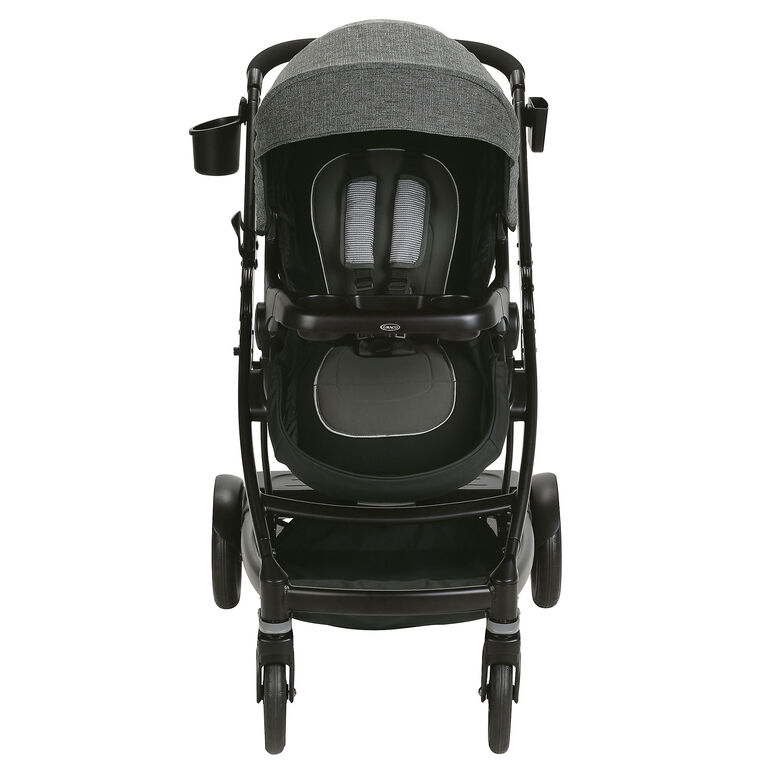 Poussette simple à double UNO2DUO de Graco - Ellington - Notre exclusivité