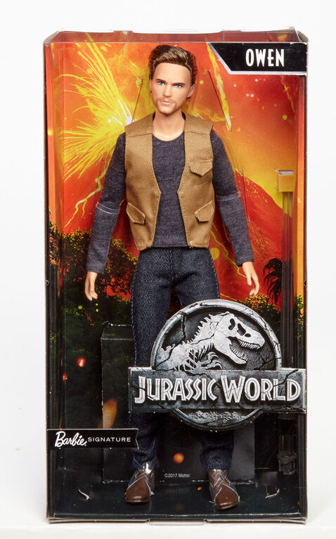 Barbie Jurassic World Owen Doll