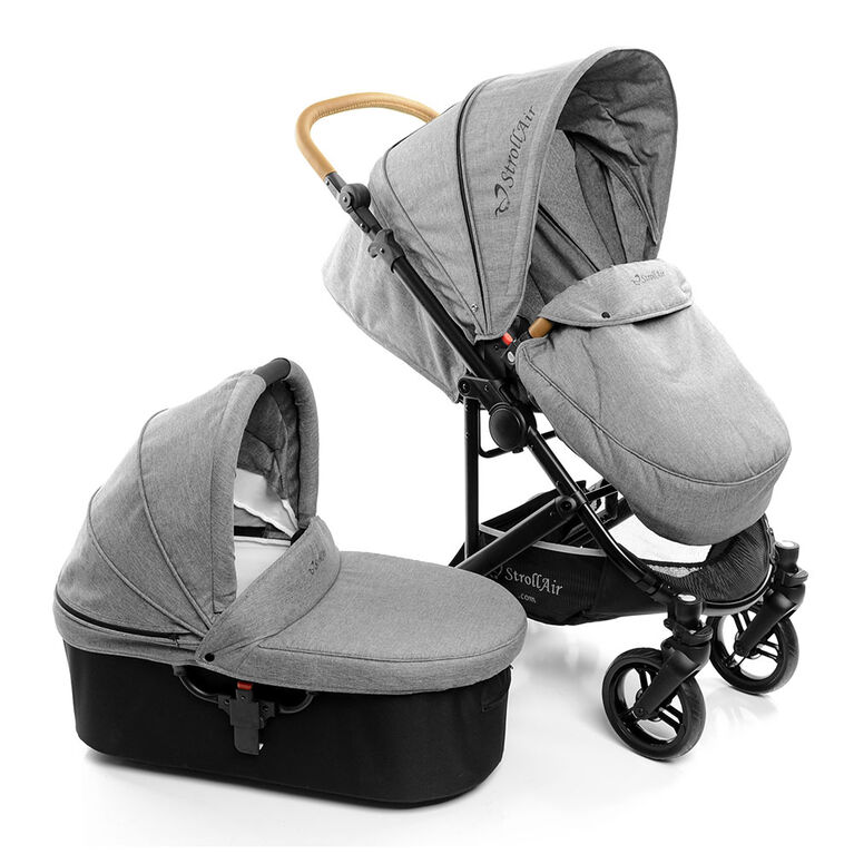 StrollAir CosmoS Single Stroller with Bassinet