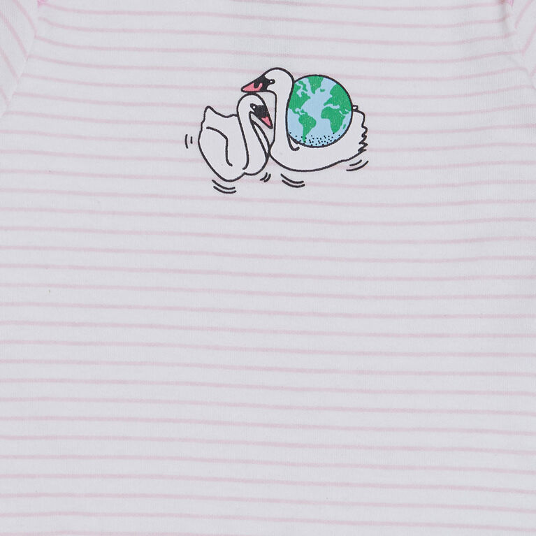 earth by art & eden Isla 3-Pack Bodysuit- 12 months