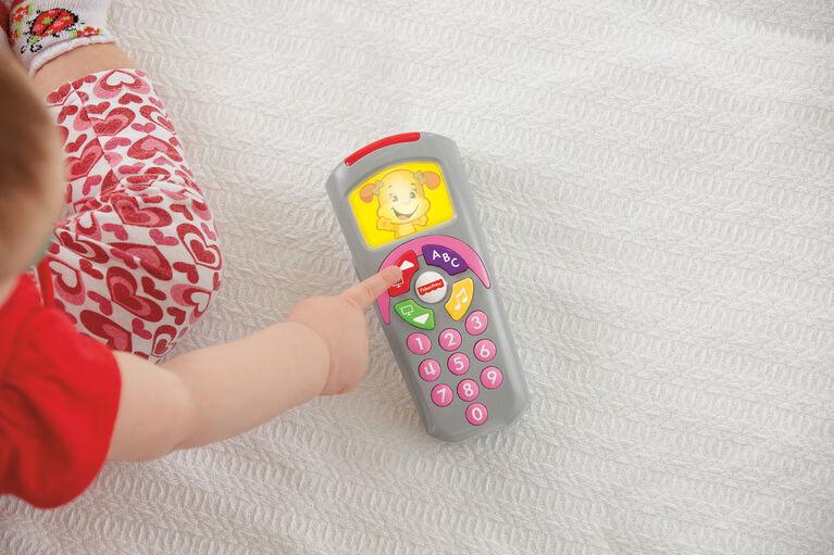 Fisher-Price - Rires et Éveil La Télécommande de Sis - Édition anglaise