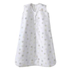 HALO SleepSack - Micro Fleece - White Sketch Dot - Medium