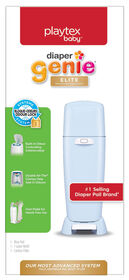 Playtex Diaper Genie Elite - bleu.