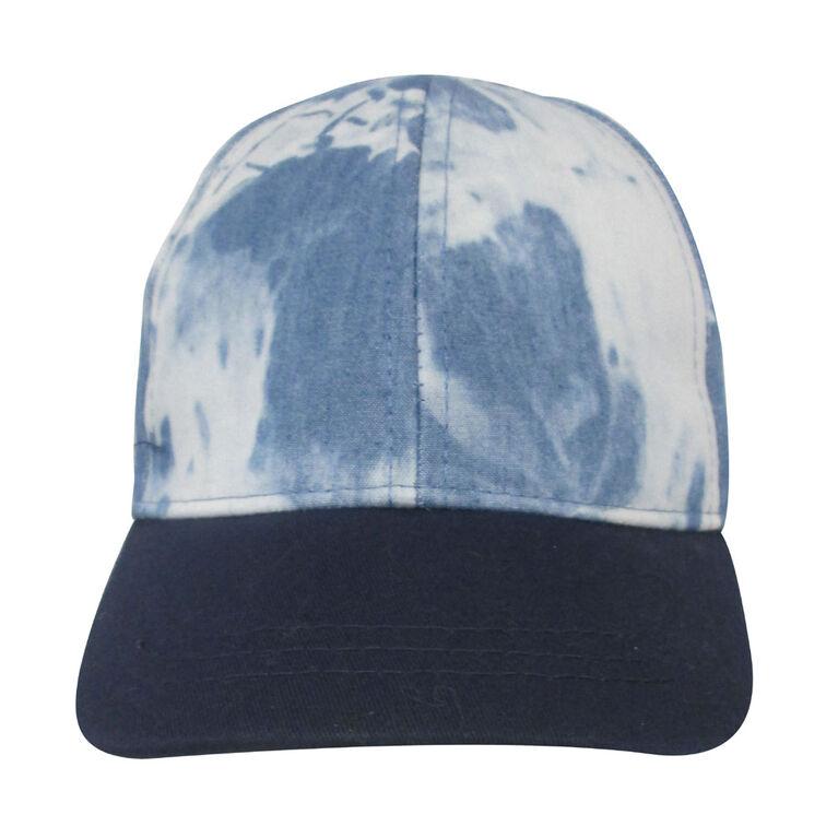 Baby B - Baseball Cap - Tie Dye, Blue, 12-24M