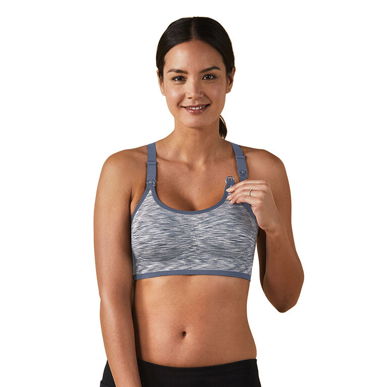Bravado Designs - Bodysilk Seamless Rhythm Bra - Moonriver - X-Large