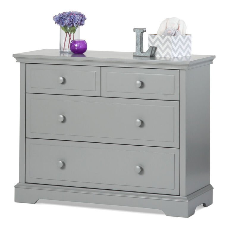Child Craft Camden Ready to Assemble Dresser - Cool Gray