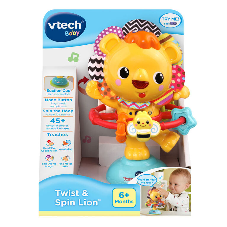VTech Twist & Spin Lion - English Edition