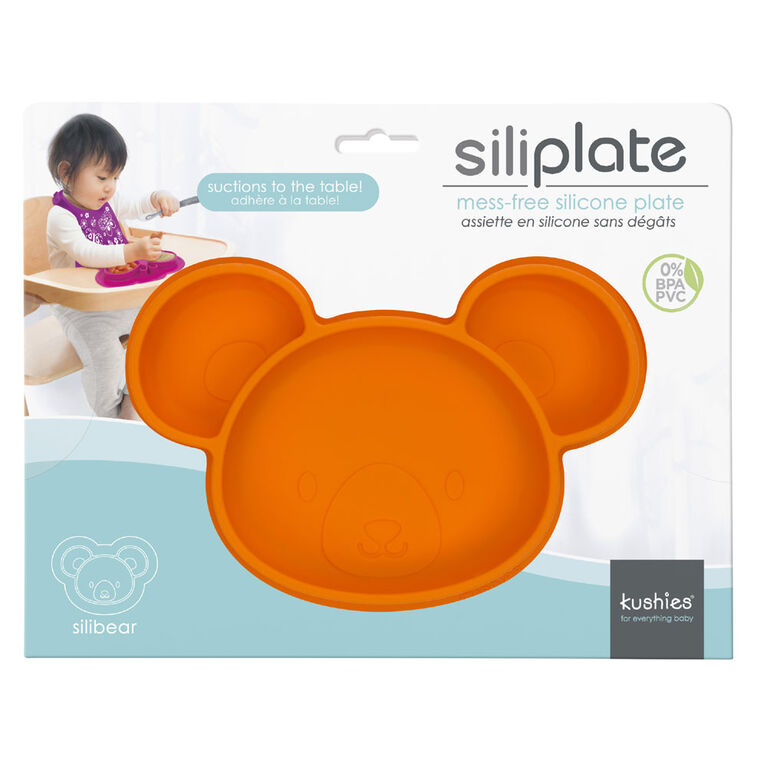 Kushies Siliplate - Carrot