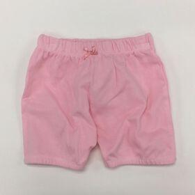 Coyote and Co. Shorts à taille élastique - Rose - de 6 à 9 mois.