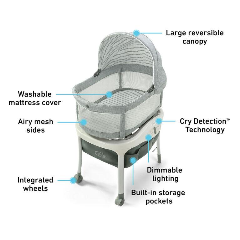 Berceau Sense2Snooze™ avec détecteur de pleurs Cry Detection™ de Graco® - Hamilton