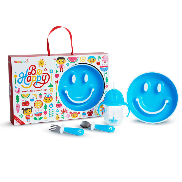 Ensemble-Cadeau E-Be Happy – Bleu - English Edition