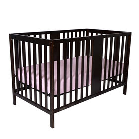 Kidiway William 4-in-1 Convertible Crib - Brown
