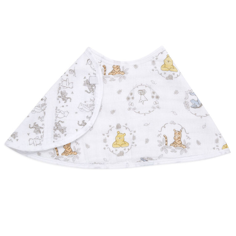 Disney-Winnie + Friends-Single Burpy Bib
