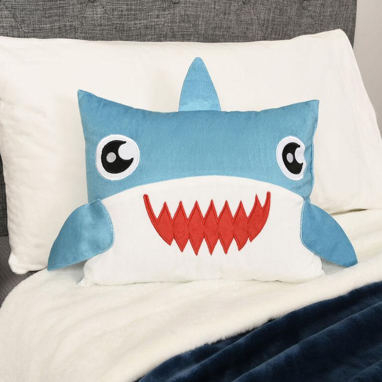 Oreiller de personnage requin