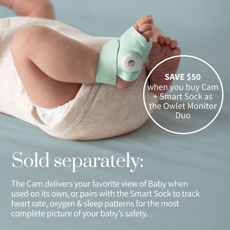 Owlet Cam Smart HD Video Baby Monitor