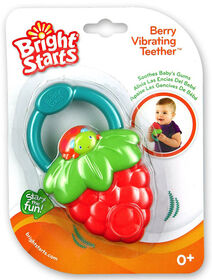 Bright Starts - Jouet de dentition Fruit Vibes - Fraise