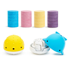 Color Buddies Moisturizing Bath Bombs & Toy Dispenser Set