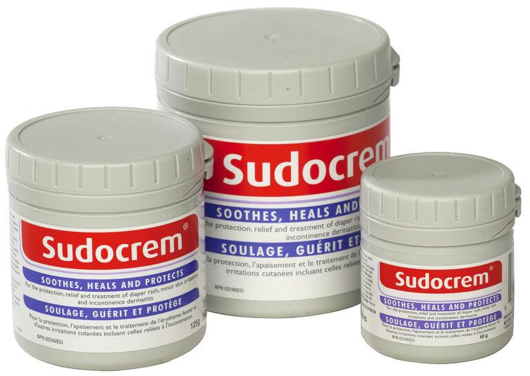 Crème Sudocrem pour érythème fessier 250g.