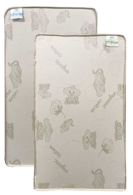 Simmons Beautyrest 2 Stage Firm Crib Mattress With Organic