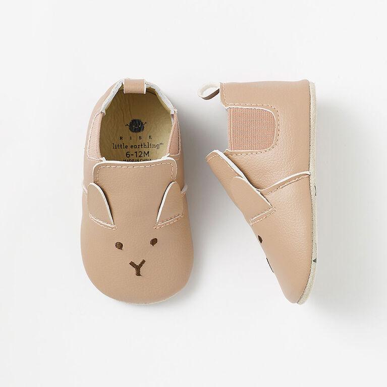 0-3m chaussures pour bébé - rose
