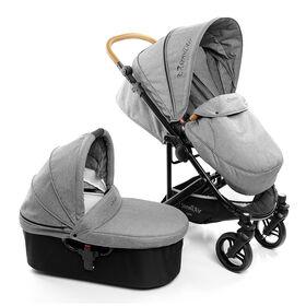 StrollAir CosmoS Pousette Simple avec bassinette inclusive.